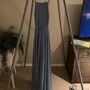 Lulus dusty blue dress